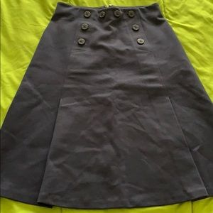 Nautical J Crew Skirt